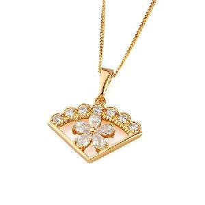 Sell 18k Gold Plating Brass Cubic Zirconia Pendant, Titanium Plated Brass Bracelet, Fashion Ring