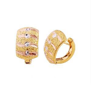 18k gold plating brass hoop earring gemstone olivine pendant ring bracelet