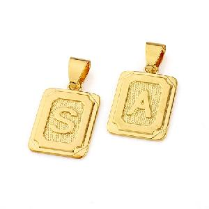 18k gold plating brass pendant differenet fashion jewelry