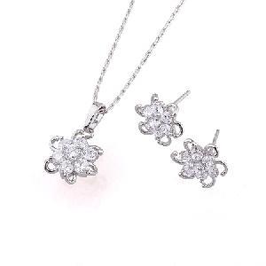 rhodium plated brass cubic zirconia jewelry cz precious stone bracelet fashion penda