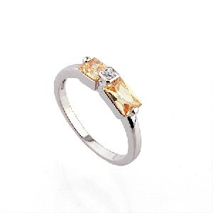 rhodium plated brass cubic zirconia ring rhinestone fashion jewelry bracelet pendant