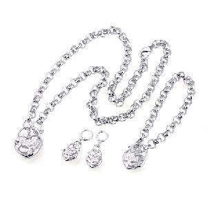 rhodium plated brass jewelry garnet pendant citrine ring prehnite