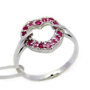 sterling silver heart love ruby ring olivine garnet tourmaline pendant earrin