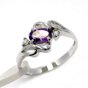 sterling silver amethyst ring prehnite earring blue topaz olivine ruby