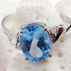 sterling silver blue topaz ring amethyst citrine bracelet earring garnet pen