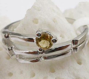 sterling silver citrine ring jewelry olivine pendant tourmaline earring