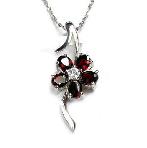 sterling silver garnet pendant olivine earring tourmaline bracelet ring