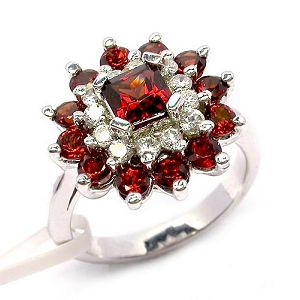 sterling silver garnet ring gemstone jewelry olivine earring sapphire pendant