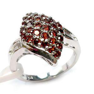 sterling silver garnet ring moonstone bracelet prehnite pendant gemstone jewelry