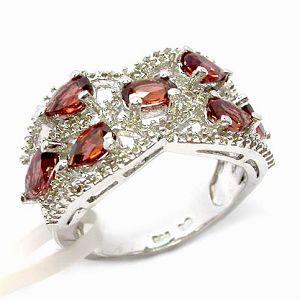 sterling silver garnet ring tourmaline bracelet prehnite pendant jadeite earri