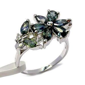 sterling silver garnet ring tourmaline pendant jadeite bracelet prehnite earri