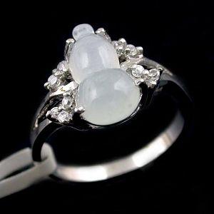 sterling silver jadeite ring fashion cz earring jewlery blue topaz bracelet