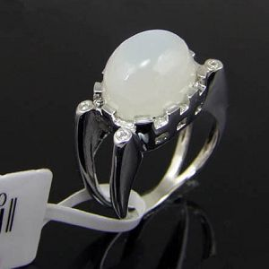 sterling silver moonstone ring amethyst bracelet olivine jewelry