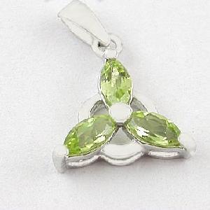 sterling silver olivine pendant blue topaz ring prehnite jewelry