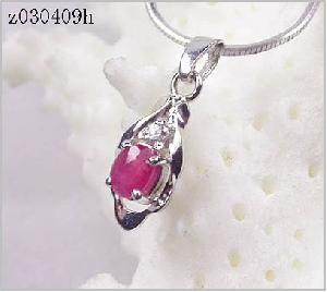 sterling silver ruby pendant citrine sapphire ring earring tourmaline bra