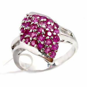 sterling silver ruby ring blue topaz earring tourmaline pendant fashion jewelry