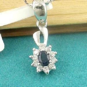 sterling silver sapphire pendant blue topaz ring olivine garnet prehnite earrin