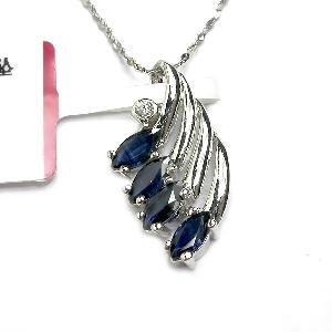 sterling silver sapphire pendant garnet ring earring bracelet necklace