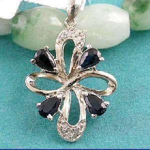 sterling silver sapphire pendant prehnite earring blue topaz olivine ruby ring