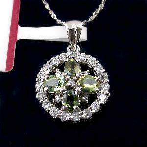 sterling silver sapphire pendant prehnite bracelet earring ring chalcedony