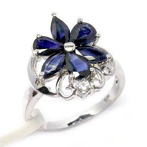 sterling silver sapphire ring blue topaz pendant olivine prehnite earring