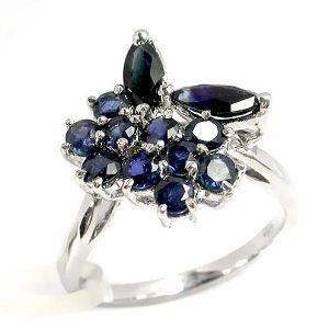 sterling silver sapphire ring citrine earring ruby bracelet pendant