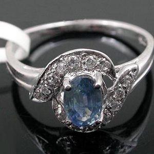 sterling silver sapphire ring earring garnet pendant prehnite gemstone jewelry