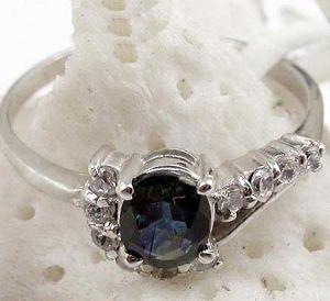 sterling silver sapphire ring prehnite bracelet gemstone jewelry garnet earri