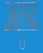 barbecue mesh round square curve