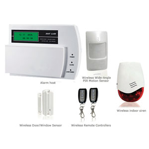 gsm wireless intelligent alarm system