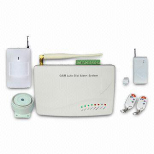 home security alarm systems gsm module works