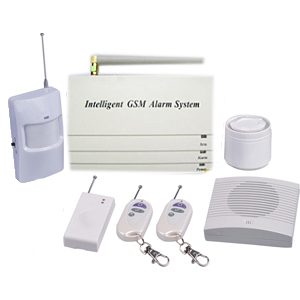 wireless alarm system gsm module