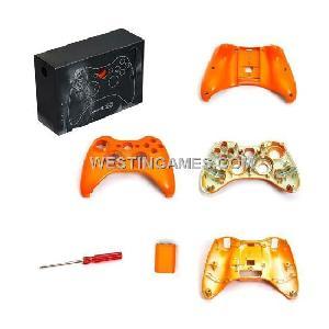 housing shell screwdriver xbox360 wireless controller orange