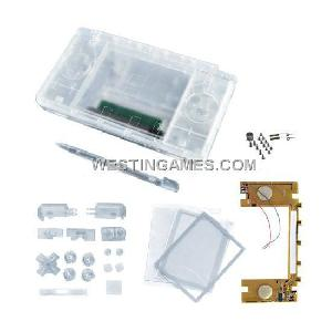 ndsl transparent housing shell flash circuit board
