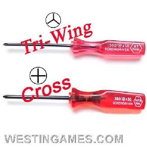 nintendo wii ds screwdriver tri cross