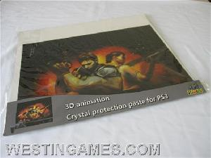ps3 3d animation crystal skin protection paste