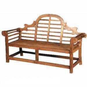 marlboro bench four seater knock teak outdoor garden furniture