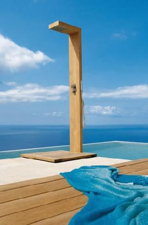 outdoor shower teak garden furniture
