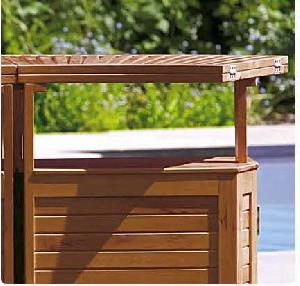 sweden bar table extention system outdoor teak garden furniture