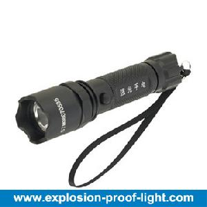 zw7710a b light explosion proof led flashlight
