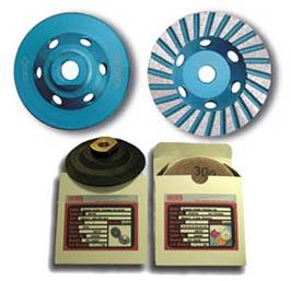 diamond grinding cup wheels flexible polishing pads marble granite