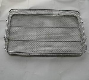 stainless steel wire mesh basket medical