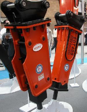 hydraulic hammer excavator