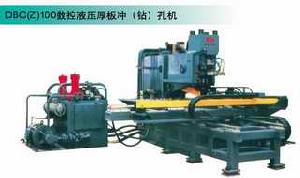 steel plate punching drilling machine