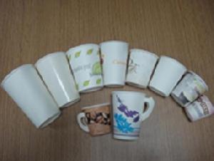paper cup handle