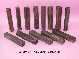 ebony pen blanks