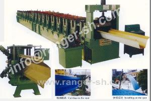 curving roofing sheet roll forming machine arch