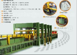 discontinuous pu sandwich panel line machine