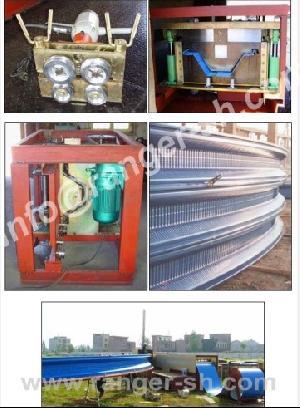 girder abm k span roll forming machine
