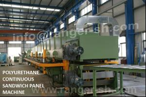 Continuous Pu Sandwich Panel Production Line, Continuous Pu Sandwich Panel Line